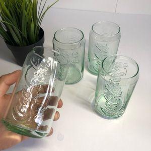 Coca Cola Glass Cups 12oz
